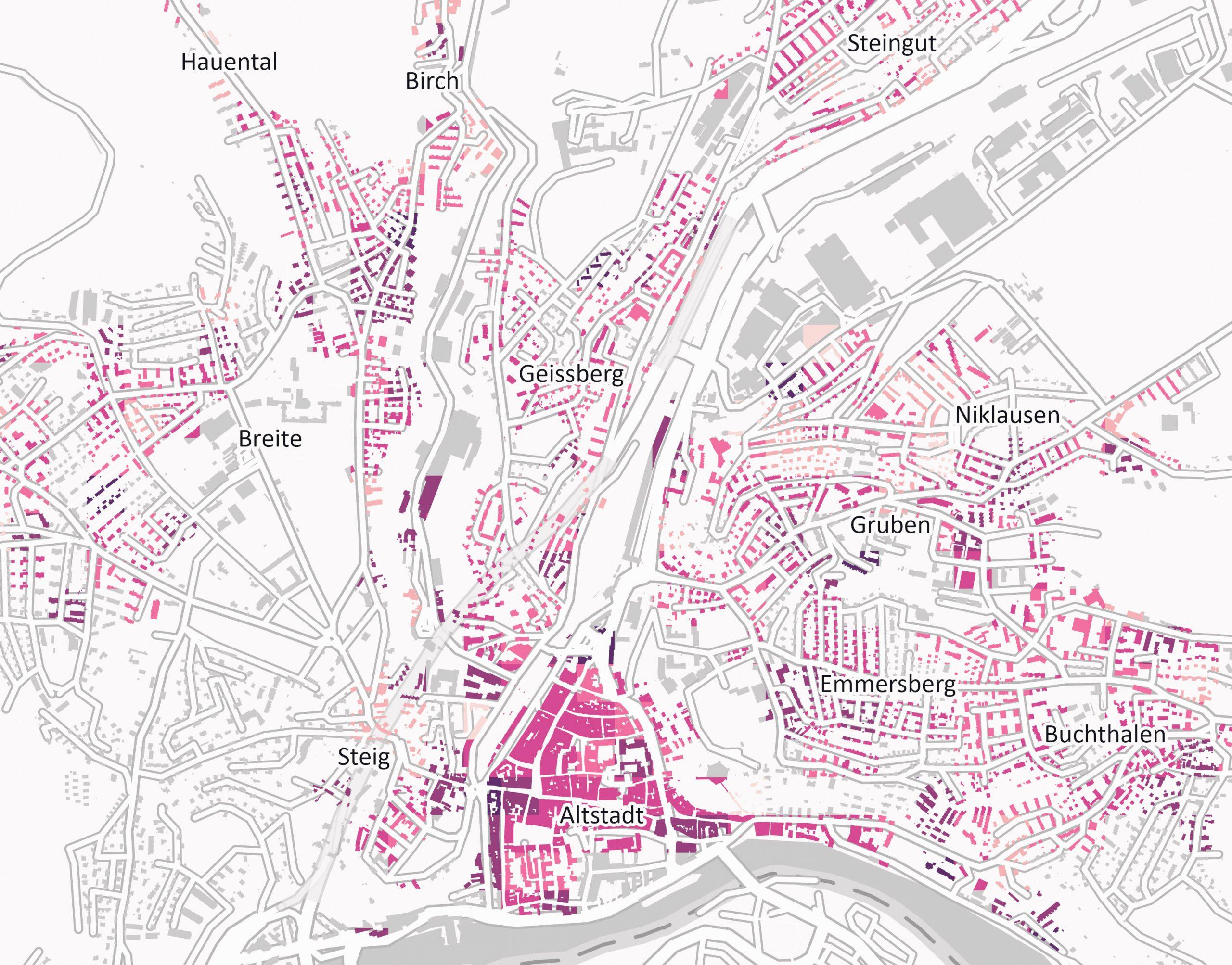 Geodaten: Kanton Schaffhausen, Esri, HERE, Garmin, INCREMENT P, METI/NASA, USGS