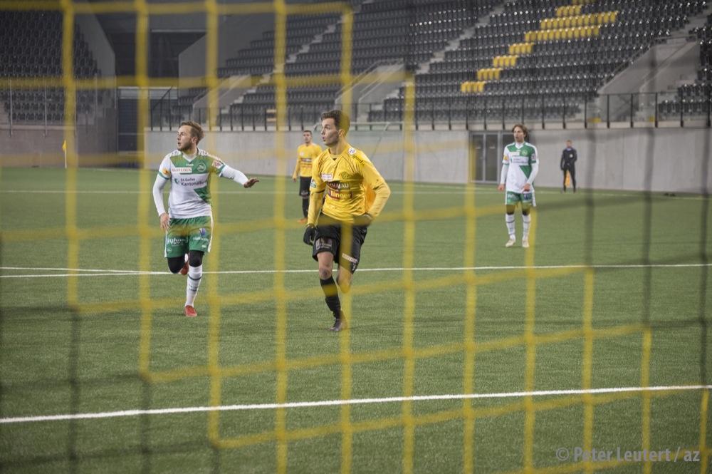 Im Testspiel gegen St. Gallen traf Demhasaj doppelt. (Foto: Peter Leutert)