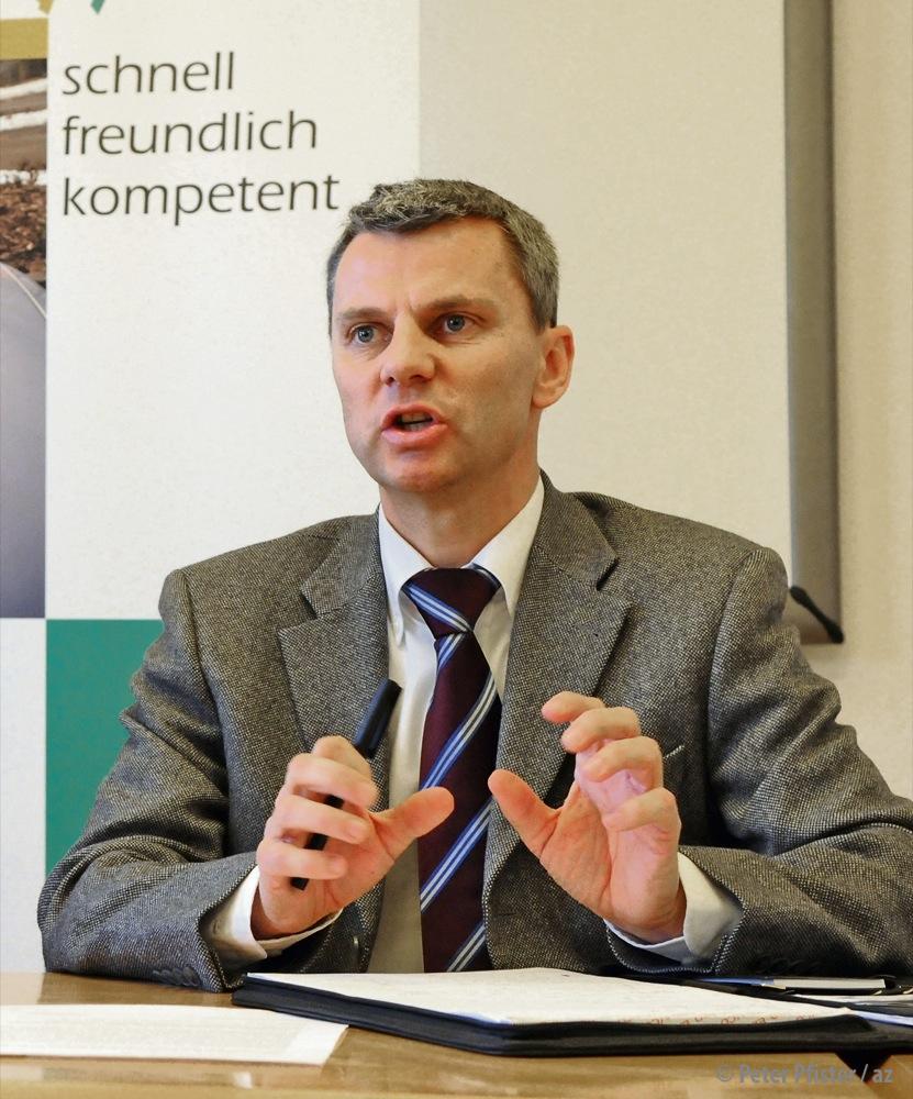 Seine Rolle wird untersucht: Polizeikommandant Kurt Blöchlinger. Foto: Peter Pfister