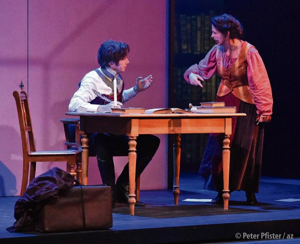 Szene aus dem Musical «Anna Göldi». Foto: Peter Pfister