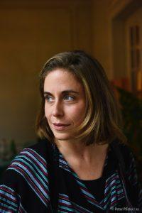 Denise Bertschi führte Interviews und machte Aufnahmen von der Spurensuche vor Ort.