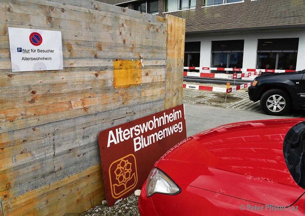 Zurzeit wird das Altersheim umgebaut. Foto: Peter Pfister
