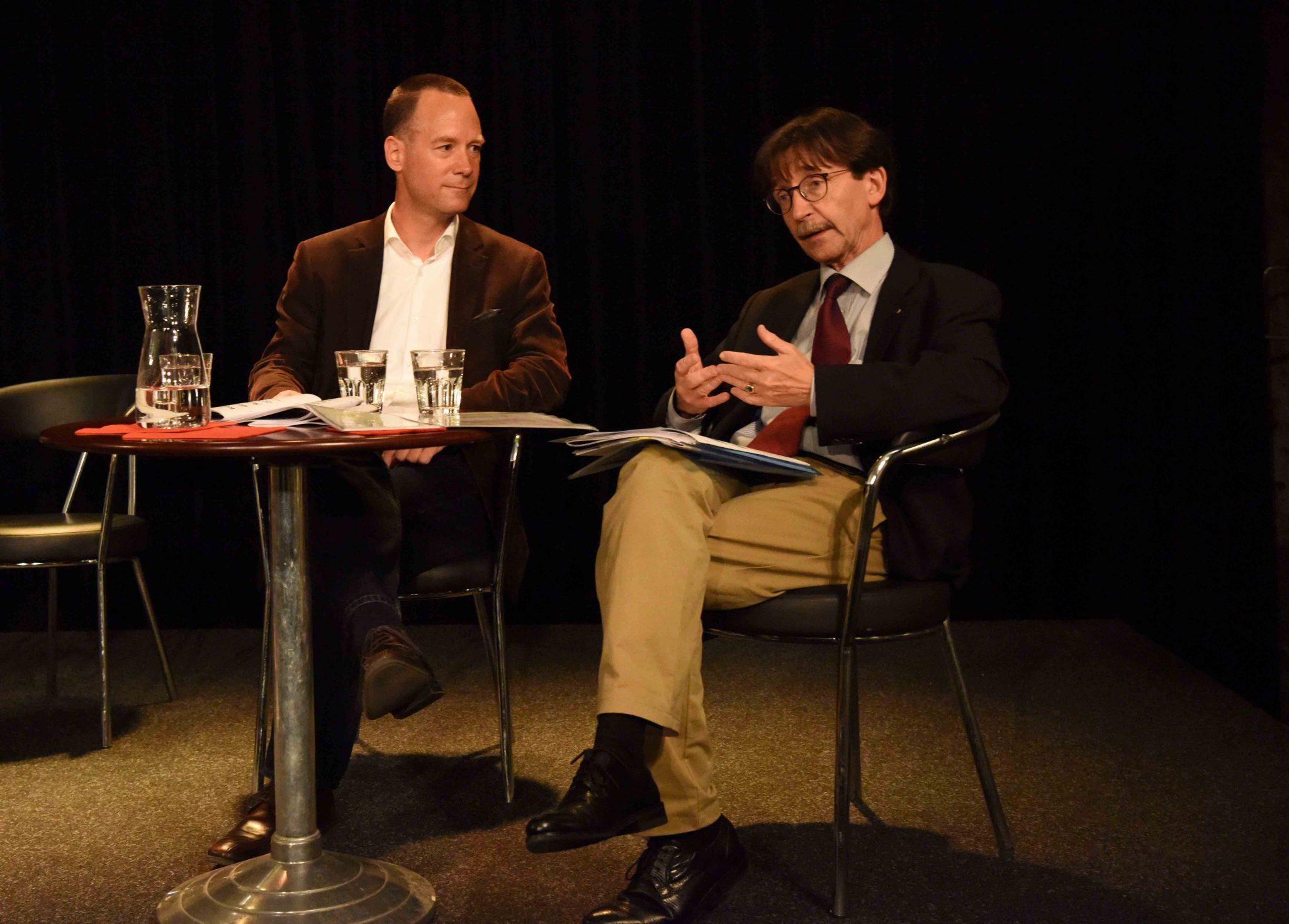 Stadtrat Raphaël Rohner präsentiert die Kulturstrategie. Foto: Peter Pfister