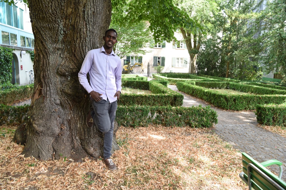 Abdirahman Abdul Kadir: Aufgeweckt, freundlich, engagiert. Foto: Peter Pfister