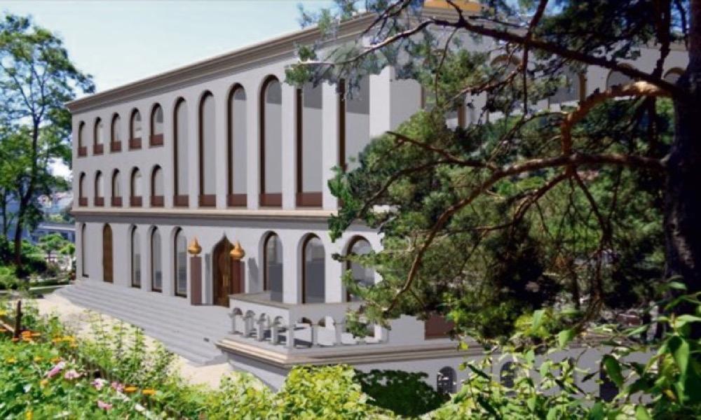So soll die Moschee einst aussehen.