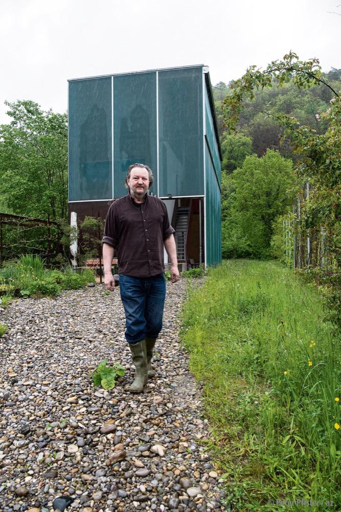 Markus Häberli tritt aus seinem Schneckenhaus. Foto: Peter Pfister