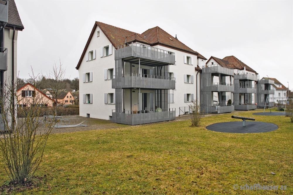 Im Niklausen besitzt die Gallintra das halbe Quartier, zum Beispiel diese Häuser an der Birkenstrasse.