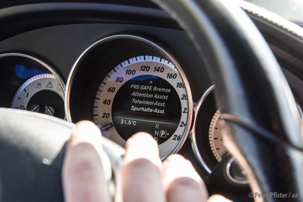 «Poserautos ist sicherer als das meiste, was sonst auf den Strassen herumfährt», sagt Aaron.